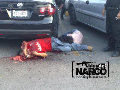 Fotos de los ejecutados en Poza Rica en la plaza gran patio 14