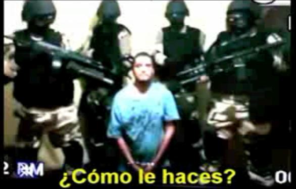 de la organización delictiva de Los Zetas, el material es firmado por