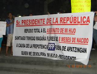 Marchan en Apatzingán para exigir salida de la Policía Fede MarchaII.quadratin