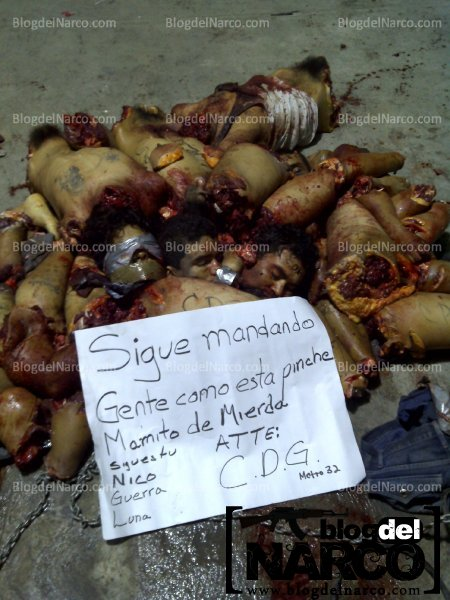 ... duele 100% actitud: Fotos de Zetas descuartizados en Montemorelos N.L