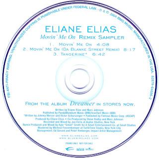 Eliane Elias - Movin' Me On - EP