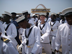 The Navy group and me!