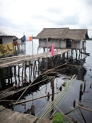 The stilt village, Nzulezo