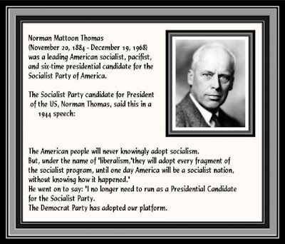 norman thomas on the democrat party