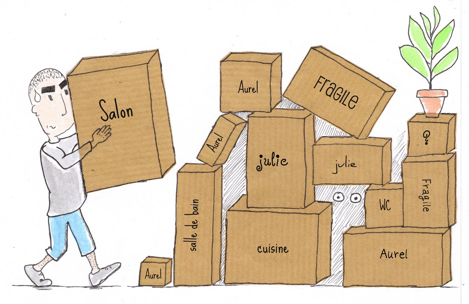 boite en carton pour demenagement recycler carr grande bo te en carton avec couvercle pour. Black Bedroom Furniture Sets. Home Design Ideas