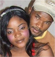 Meus amigos (Guy & Mariane) em Benguela