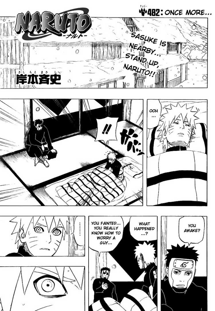Titlecover | Read Naruto 482 Online | 00 - Press F5 to reload this image