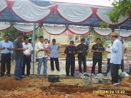 Peresmian Pembangunan Musholla
