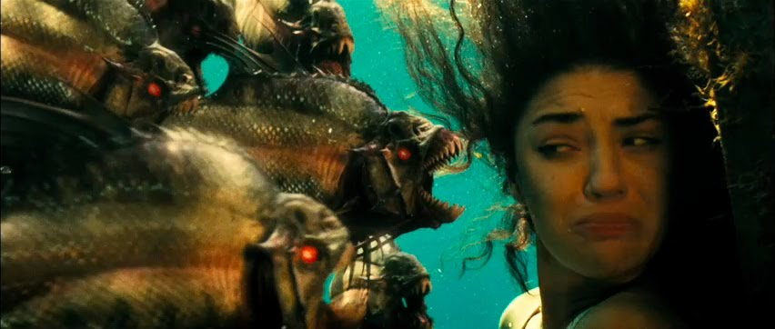 We've got our hands on two tv spots of piranha 3d the upcoming fishy