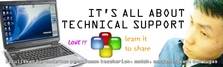 It's All About Technical Support