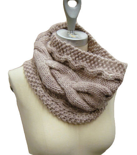 Knitting With Sandra Singh: Sculpted Cowl Pattern, Kit & Giveaway!