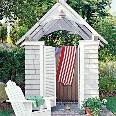 Outdoor Beach Shower Beach House Scrapbook Outdoor