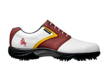 ASU Sun   Devils golf shoes.