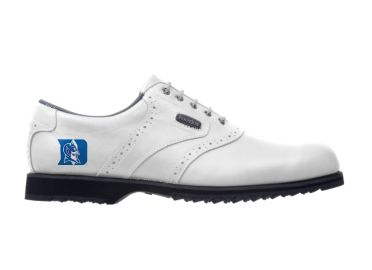 Duke Blue Devils golf shoes.