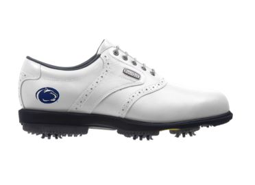 PSU Nittany Lions golf shoes.