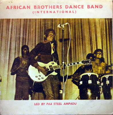 African Brothers Dance Band ( International ) -Led by Paa Steel Ampadu,Happy Bird 1970