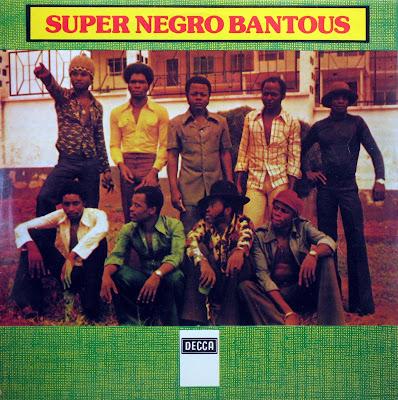 Cover Album of Super Negro Bantous, Decca 1977