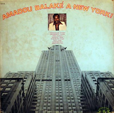 Cover Album of Amadou BalakГ© a New York !,Sacodis 1979