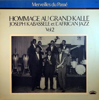 Merveilles du PassГ© - Hommage au Grand KallГ©, Joseph Kabassele et l'African Jazz, vol. 2, african 360.143, 1984