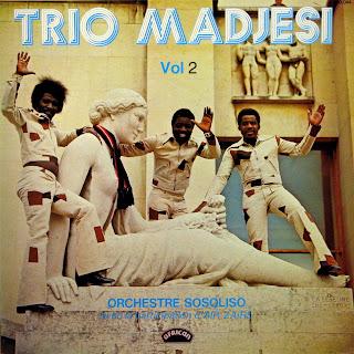 Trio Madjesi - Orchestre Sosoliso vol.2,african 360.044, 1973