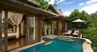sea+view+pool2 Spa de lujo en Tailandia, Santhiya Resort & Spa.