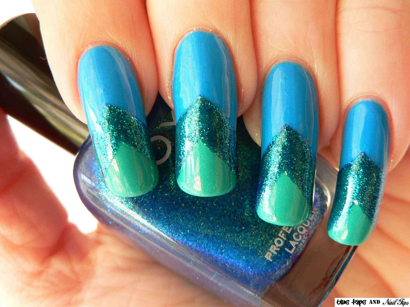 Blue tape and nail tips nd9 mermaid tails and fish scales nd9 mermaid tails and fish scales prinsesfo Choice Image