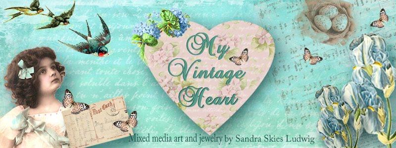 Sandra's Vintage Heart