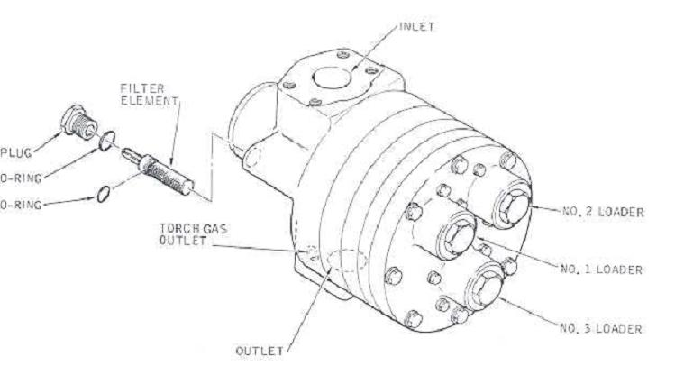 solar turbine  fuel control valve filter