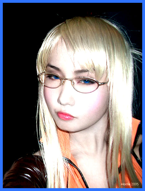 Alodia Gosiengfiao as Quistis Trepe from Final Fantasy VIII