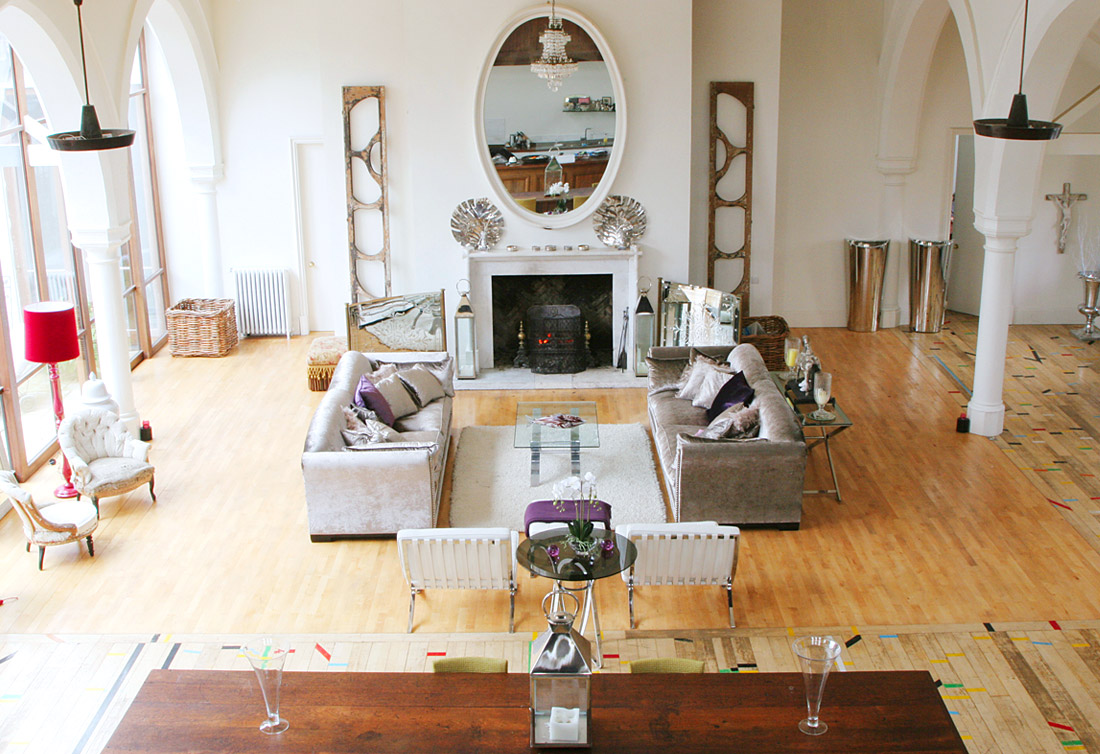 alkemie: another church conversion ~ we turned a church into a