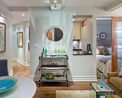 Utilizing Small Spaces In Apartment
