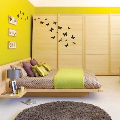 are so fun this is certainly a fun and modern bedroom with zen lines