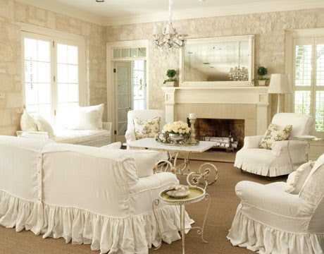Victorian Living Room Furniture on Alkemie  Casual And Comfortable Cottage Country Style Living Rooms
