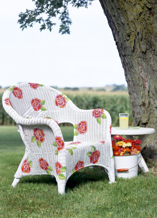 creative outdoor chairs?