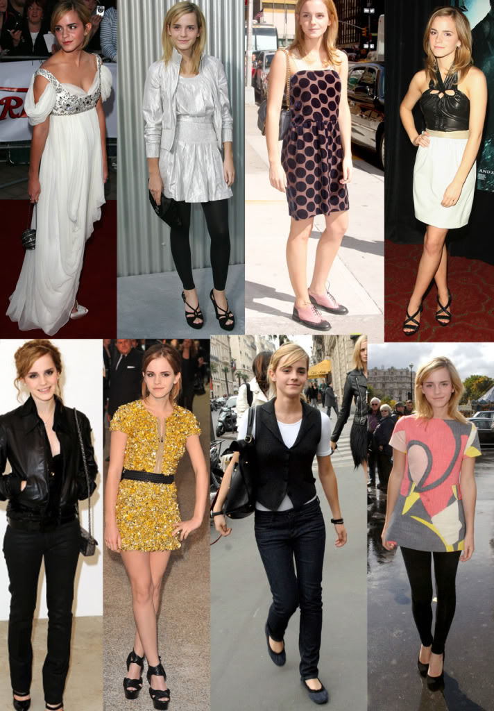It doesn't really have so much to do with Emma Watson's style, but I ...