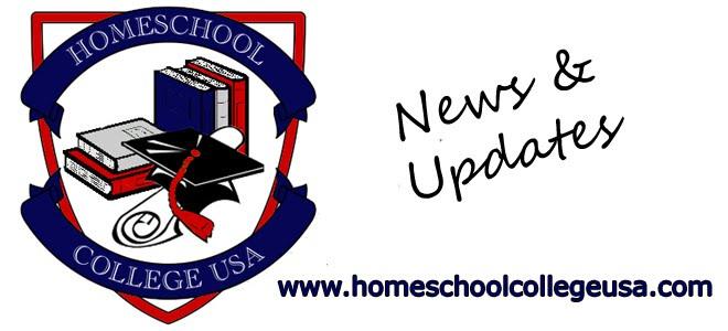 Homeschool College USA News and Updates