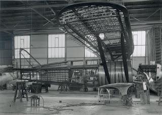 Construcción del Cuatro Vientos en los talleres de CASA en Getafe