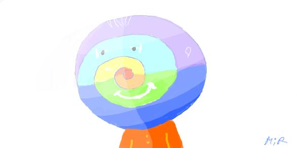 красный, оранжевый, желтый,  зеленый, голубой, синий,  фиолетовый by Novomir