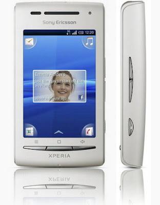 sony ericsson xperia x8 white pink. Sony Ericsson XPERIA X8 witll