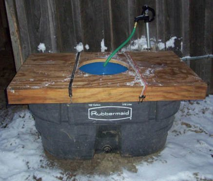 Build it solar blog super insulated stock tank for Super insulated water heater