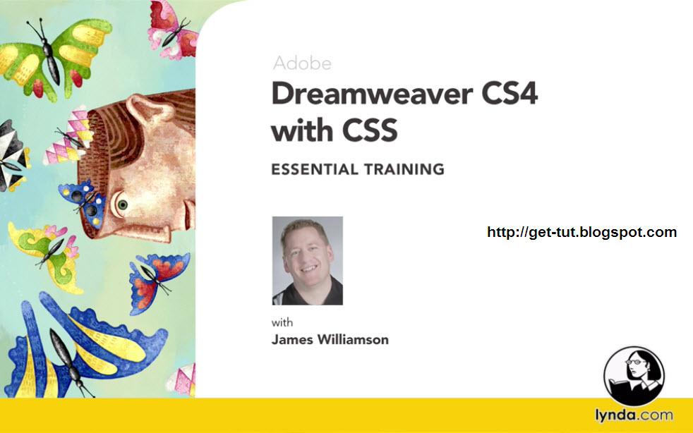 Lynda.com - Dreamweaver CS4 with CSS Essential Training (1 dvd)