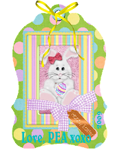 EASTER BUTTON from Pea @ Peas' Corner