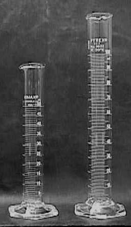 Berguna untuk mengukur volume suatu cairan, seperti labu erlenmeyer