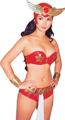Angel Locsin in another Sexy Darna Costume