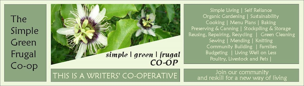 The Simple | Green | Frugal Co-op
