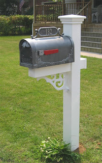 Installing your mail box on the post Dutch Touch contracting REO