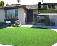 artificial lawn turf DT landscaping San Diego County