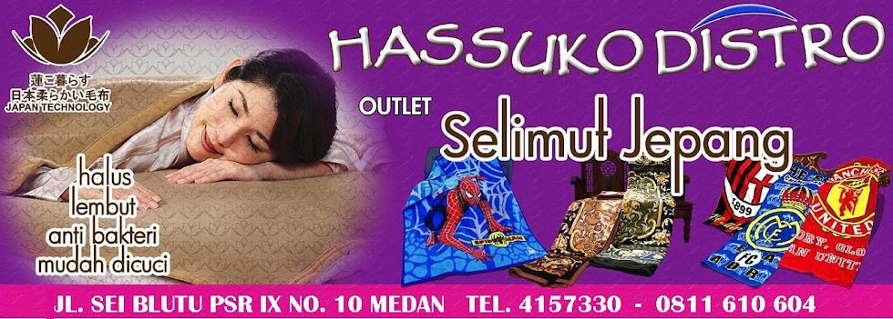 HASUKO DISTRO  (Outlet Selimut Jepang)