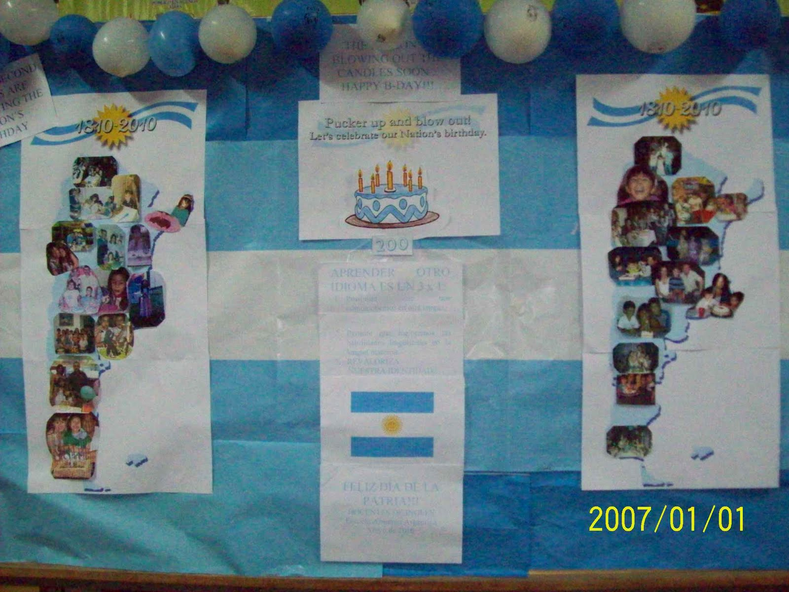 Guion para acto 25 de mayo para nivel inicial for Decoracion 25 de mayo nivel inicial