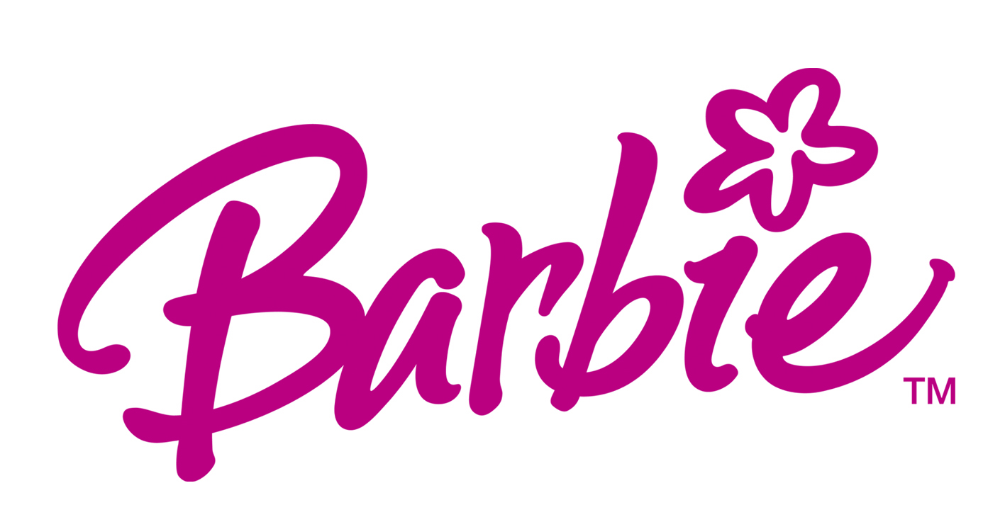Starting with b barbie logo history barbie recent logo